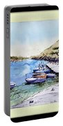 Boats In Spain Portable Battery Charger