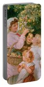 Bob Apple Portable Battery Charger by Frederick Morgan