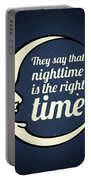 Bob Dylan Song Lyrics Quotes Art Typography Portable Battery Charger