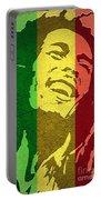 Bob Marley I Portable Battery Charger