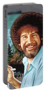 Bob Ross Portable Battery Charger