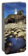 Bob's Cave At Mumbles Lighthouse Portable Battery Charger