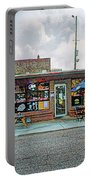 Bobs Downtown Diner Front Door Portable Battery Charger