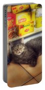 Bodega Cat - At Home In New York Portable Battery Charger