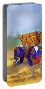 Bodie Ore Wagon Painted Portable Battery Charger