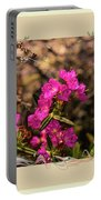 Bog Laurel Flowers Portable Battery Charger