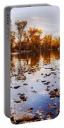 Boise River Autumn Glory Portable Battery Charger