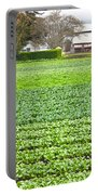 Bok Choy Field And Farm Portable Battery Charger