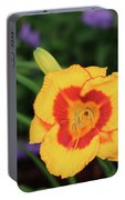 Bold  Daylily Portable Battery Charger