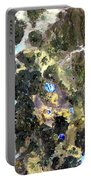 Bolivian Andes From Space Portable Battery Charger