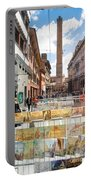 Bologna Artworks Of The City Hanging In  Portable Battery Charger