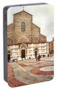 Bologna, Italy San Petronio Basilica Facade Crescentone Portable Battery Charger