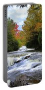 Bond Falls In Autumn Portable Battery Charger