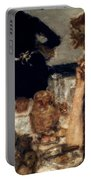 Bonnard: Breakfast, C1899 Portable Battery Charger