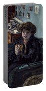 Bonnard: Lady, 19th C Portable Battery Charger