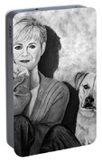 Bonnie Hunt And Charlie Portable Battery Charger
