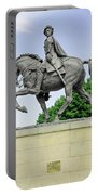 Bonnie Prince Charlie Statue - Derby Portable Battery Charger