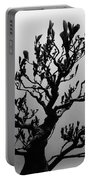 Bonsai Black And White Portable Battery Charger