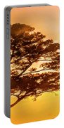 Bonsai Pine Sunrise Portable Battery Charger