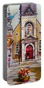 Bonsecours Church Portable Battery Charger