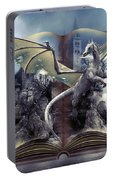 Book Of Fantasies Portable Battery Charger