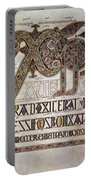 Book Of Lindisfarne Initial Portable Battery Charger