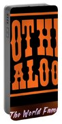 Boot Hill Saloon Sign Portable Battery Charger