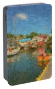 Boothbay Harbor At 5 Portable Battery Charger
