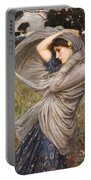 Boreas Portable Battery Charger by John William Waterhouse