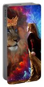 Born For Such A Time Portable Battery Charger by Dolores Develde