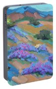 Borrego Springs Verbena Portable Battery Charger