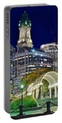 Boston Above Christopher Columbus Park Portable Battery Charger