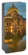 Boston Christian Science Building Reflecting Pool Portable Battery Charger