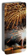 Boston Fireworks On The Charles Portable Battery Charger