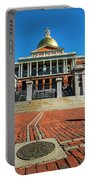 Boston Freedom Trail To State House Boston Ma Portable Battery Charger