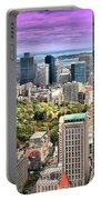 Boston From Above Portable Battery Charger