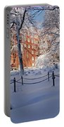 Boston Ma Granary Burying Ground Tremont St Grave Stones Portable Battery Charger
