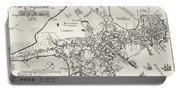 Boston Map, 1722 Portable Battery Charger