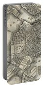 Boston Map Of 1842 Portable Battery Charger