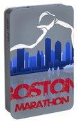 Boston Marathon 3a Running Runner Portable Battery Charger