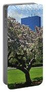 Boston Public Garden Spring Tree Boston Ma Portable Battery Charger