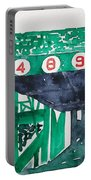 Boston Retired Numbers Portable Battery Charger