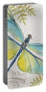 Botanical Dragonfly-jp3423b Portable Battery Charger