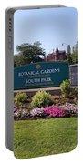 Botanical Gardens Floral Landscaped Entrance  Portable Battery Charger