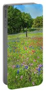 Botanical Variety Show In The Texas Hill Country Portable Battery Charger