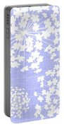 Botanicals Baby Blues Portable Battery Charger