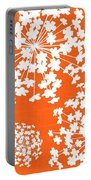 Botanicals In Sherbert Portable Battery Charger