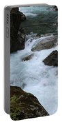 Bottom Of Silver Falls Portable Battery Charger