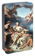 Boucher: Abduction/europa Portable Battery Charger