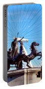Boudica Riding The Millennium Wheel Portable Battery Charger